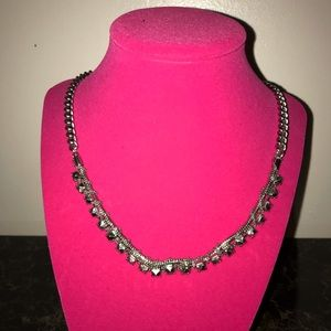 Bcbg generation silver necklace